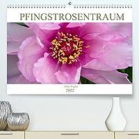 Pfingstrosentraum (Premium, hochwertiger DIN A2 Wandkalender 2022, Kunstdruck in Hochglanz): Beeindruckende Blueten, die unterschiedlicher nicht sein koennen. (Monatskalender, 14 Seiten )