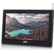 "August DA100D - 10.1"" Portable HD TV with Inbuilt Recorder & Multimedia Player / DVB-T2 MPEG4 H.264 / H.265 - LCD TV Digital & Analog"