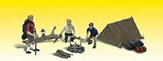 Woodland Scenics Campers (3) w/Tent & Accessories O Scale