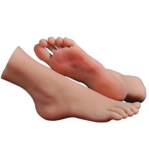 Sexpuppen Masturbation voll Silikon Leben Größe Fälschung Füße Modell Fuß Fetisch Spielzeug Sexy Spielzeuge Liebespuppe