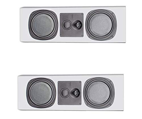 Check Out This 2 x PhaseTech PC3.5 White Center Channel Speaker 250W 4Ohm Home Audio