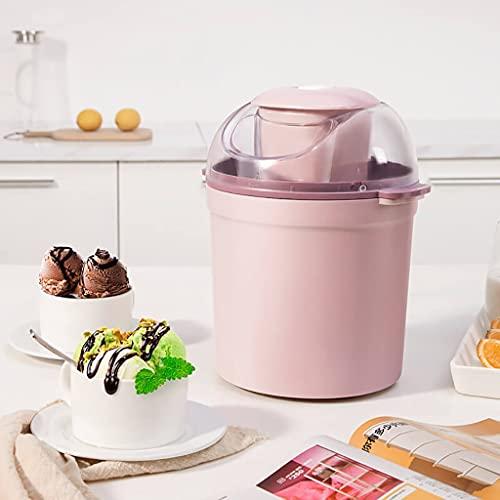 XYSQ Hele Cream Maker, Adecuado para Sorbete, Yogur Congelado Y Helado, 800ml, Deliciosa Helado Cremoso En 30 Minutos
