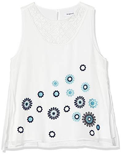 Desigual Blus_tebas, Blanco (Blanco 1000), XL para Mujer