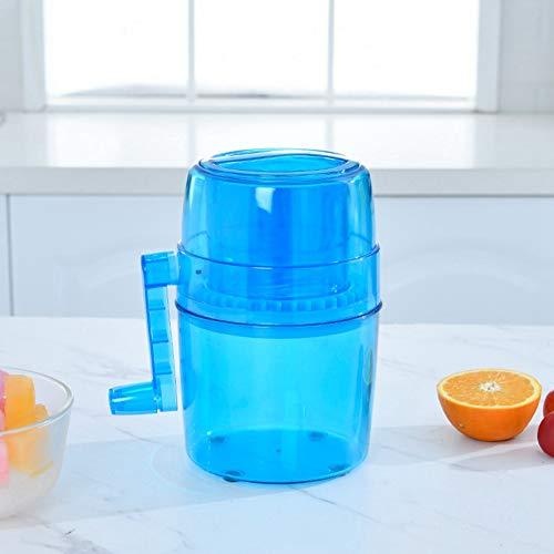 Lantro JS Instructions à la Maison Portables Machine à Glace pilée, pic à Glace, manivelle pour Enfants Cocktail congelé Margarita pour Adultes