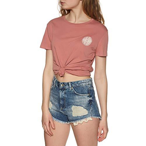 Rip Curl Aloha Experience - Camiseta de manga corta Canyon Rose. XS