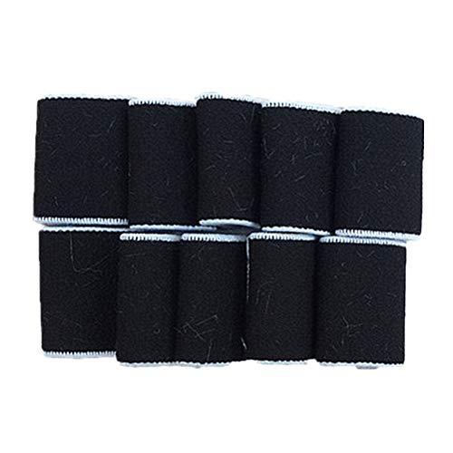ABOOFAN 4 juegos/40 unids dedo mangas apoyan nylon elástico protector ejercicio guantes para voleibol baloncesto artritis