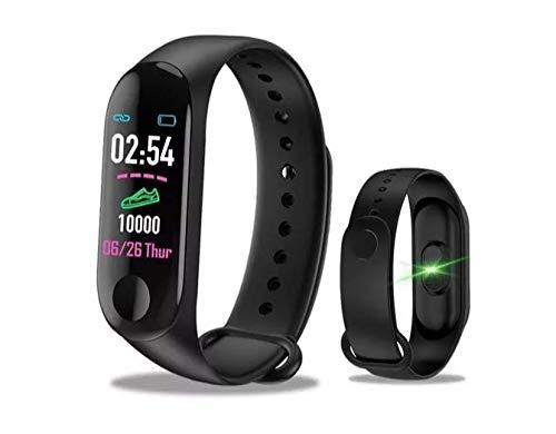 Relógio Inteligente M3 Plus Monitoramento do coração, pressão, distância, calorias, tempo e muito mais