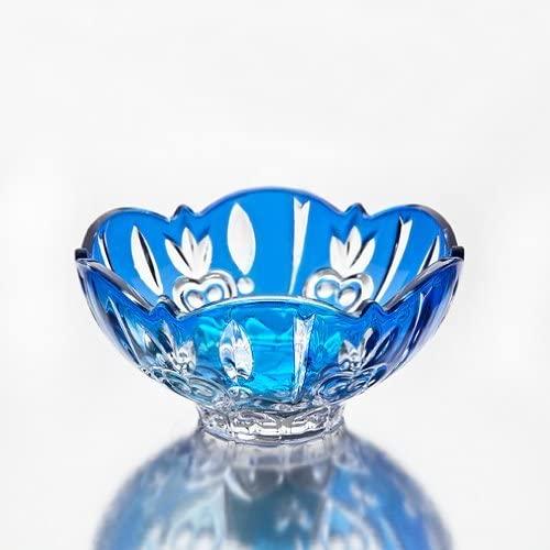 Studio Silversmith Crystal Candy Dish, Blue
