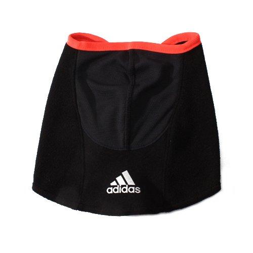 (アディダス) adidas Climaネックウォーマー ITV64 M39952 ブラック/ソーラーレッド OSFX