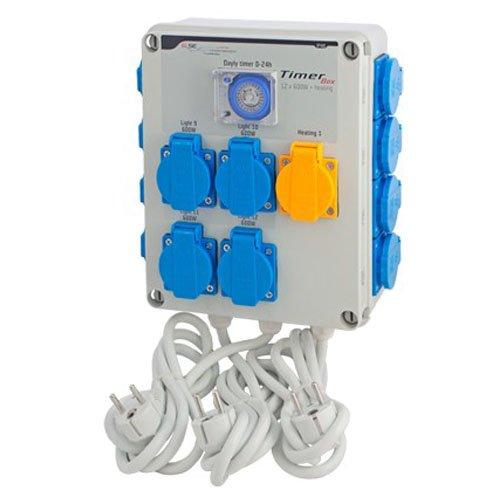 Minuterie / Programmateur GSE Timer Box 12x600w + Chauffage (GSE-13C)