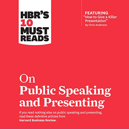 HBR's 10 Must Reads on Public Speaking and Presenting cover art