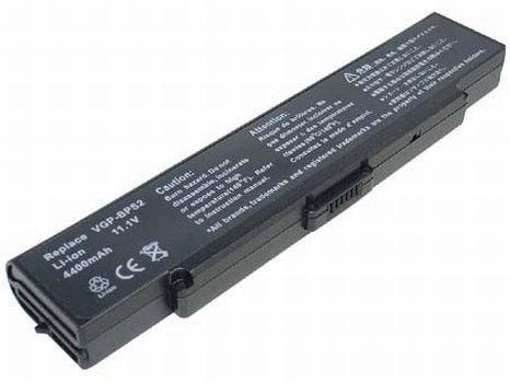 11,10V 4400mAh Batterie de remplacement pour Sony VGN-AR11, VGN-AR21, VGN-C51, VGN-C61, VGN-C90, VGN-CR, VGN-FE21, VGN-FE28, VGN-FE31, VGN-FE33, VGN-FE53, VGN-FE92 Serien
