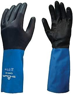 Industrial & Scientific Chemical Resistant Gloves 1/PR SHOWA Best ...