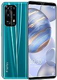 WWJ Smartphones Baratos, rede 3G, Celular Desbloqueado, Tela HD de 5,8 polegadas, memória expansível, 1 GB de RAM + 4 GB de ROM