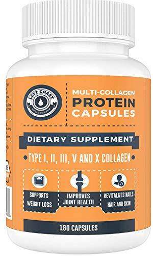 Multi Collagen Caps (Collagen Capsules 1 2 3 5 10) - 180 Count...