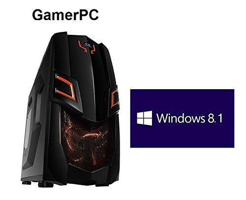 HeidePC | GamerPC | Línea Naranja I | Intel i7-4770K 4x3.5 (3.9) | Nvidia GeForce GTX TITAN Z 12GB | ASRock Z97X Killer | 4GB DDR3 | 512GB SSD | HDD de 1 TB | 24x DVD ± RW | 16x Bluray Brenner | Win 8.1 Pro de 64 bits