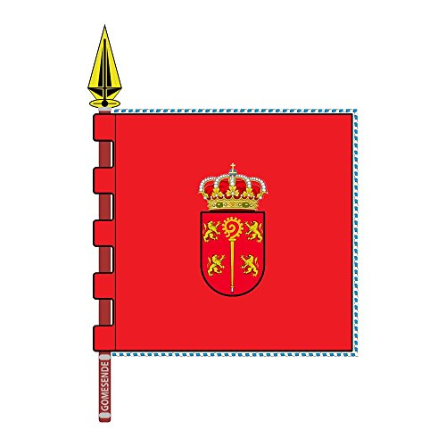 magFlags Bandera Large Gomesende Ourense Galiza | Gomesende, Ourense | 1.35m² | 120x120cm