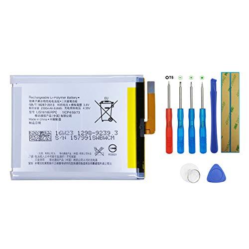 Swark Batería LIS1618ERPC para Sony Xperia XA F3111 F3112 F3113 F3115 con herramientas