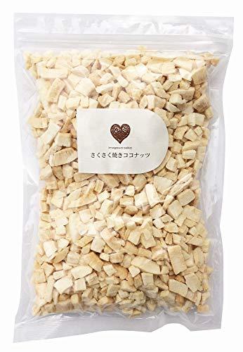 さくさく焼きココナッツ 500g (不揃い) 添加物不使用 ノンフライ製法 国内パック