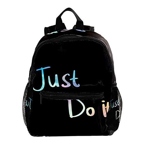 Zaino leggero per la scuola, classico Basic casual zaino per viaggi con tasche laterali per bottiglia, carlino clapperboard