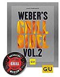 Weber Weber's Grillbibel Vol. 2 (GU Grillen) Gebundenes Grill Buch + Grillmeister Sticker by Collectix