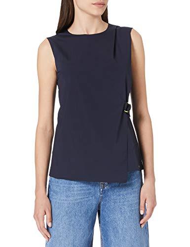 Armani Exchange Asymmetric Top Blusa para Mujer