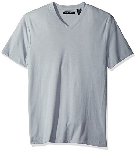 AXIST Men's Short Sleeve V Neck T-Shirt, High Rise, Small