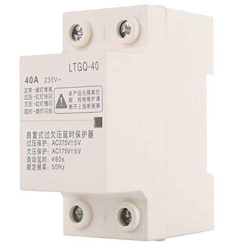 2P Relé de baja tensión,40A 220V AC Regulación automá