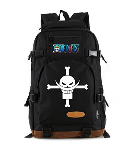 YOYOSHome Luminous Anime Assassination Classroom Cosplay Bookbag Daypack Laptop Bag Backpack School Bag with USB Charging Port