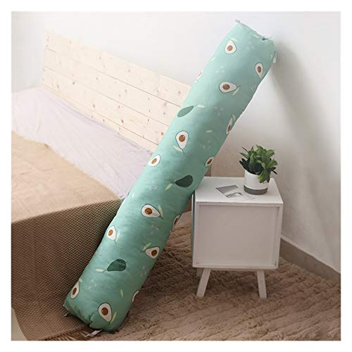 JSJJWSX Larga Almohada Cómoda Cómoda Almohada para Dormir Sofá Almohada Acompañar Almohada Decoración para el hogar (Color : A, Size : 70cm)