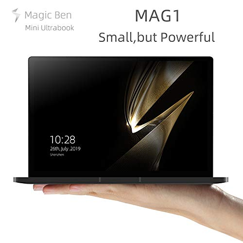 Magic Ben Mag1 8.9 Inches Mini Laptop PC Portable Ultrabook Notebook UMPC Touch Screen Tablet CPU Intel m3-8100Y GPU HD Graphics 615 WIN10 Home System 8GB RAM/256GB M2.SSD
