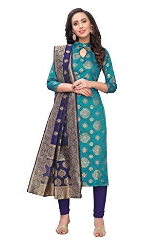 Being Banarasi women's jacquard floral designe unstiched dress material