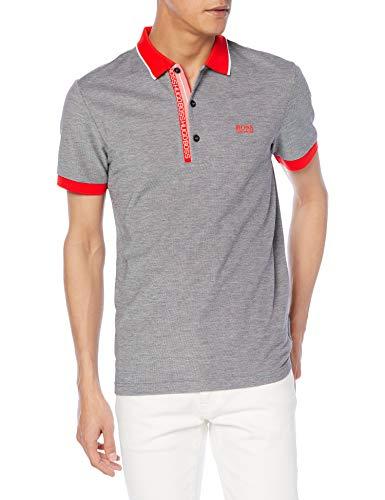 BOSS Paule 4 10234774 01 Camisa de Polo, Negro1, XL para Hombre
