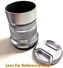 Fotasy H37S 37mm Screw-in Metal Lens Hood Shade for Olympus M.ZUIKO DIGITAL 45mm 1:1.8 lens