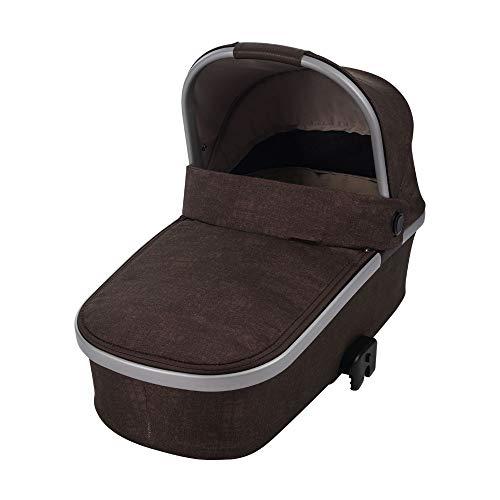 Maxi-Cosi Oria Babywanne, groß, bequem und federleichter Kinderwagenaufsatz, geeignet für Maxi-Cosi-Kinderwagen/Buggys, nutzbar ab der Geburt - 6 Monate, (ca. 0-9 kg), nomad brown