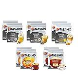 Tassimo Discover Bundle - Selecciones de cafetería por la mañana - 10 paquetes (80 Bebidas)