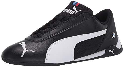 PUMA Unisex-Erwachsene BMW MMS R-CAT Sneaker, schwarz/weiß, 46 EU