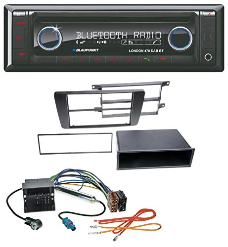 caraudio24 Blaupunkt London 470 DAB BT USB DAB MP3 CD Bluetooth Autoradio für Skoda Octavia II 2004-2013 Yeti ab 2009