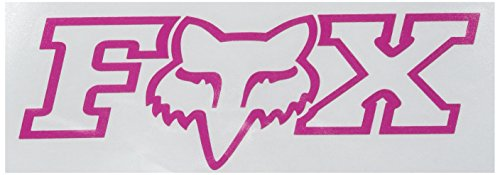 Fox Men's Corporate TDC-7 Zoll Aufkleber, Pink, Einheitsgröße