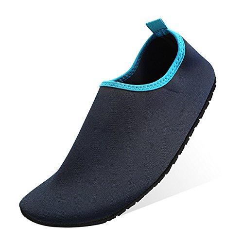 Qimaoo Unisex Strandschuhe Strand Schwimmschuhe Schnell Trocknend Schuhe Aquaschuhe Badeschuhe Wasserschuhe Surfschuhe