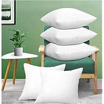 JDX Hotel Quality Premium Fibre Soft Filler Cushion Set Of 5 (16X16 Inches)