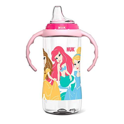 NUK Disney Learner Cup, 10 Oz, Princess, 8+ Months
