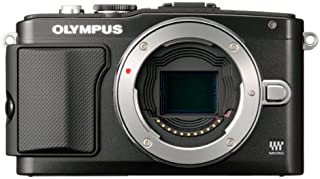 Olympus E-PL5 16MP Mirrorless Digital Camera with 3-Inch LCD, Body Only (Black)