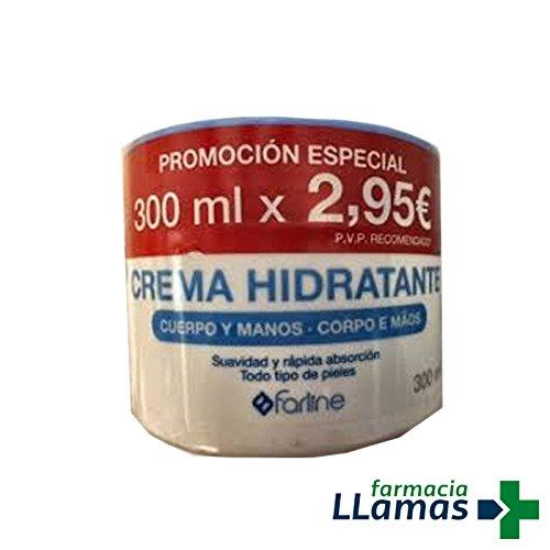 FARLINE CREMA HIDRATANTE DE CUERPO Y MANOS 300ML