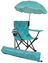 Redmon for Kids Beach Baby Umbrella Chair with Matching Shoulder Bag, Aqua
