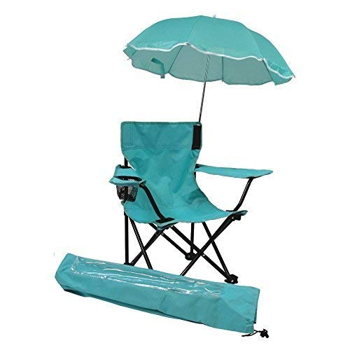 KIDS ONLY Beach Baby Umbrella Chair with Matching Shoulder Bag, Aqua