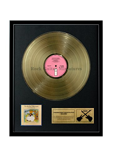 RGM1330 Cat Stevens - Tea for The Tillerman Gold überzogene 12 '' LP von Rock Guitar Miniatures