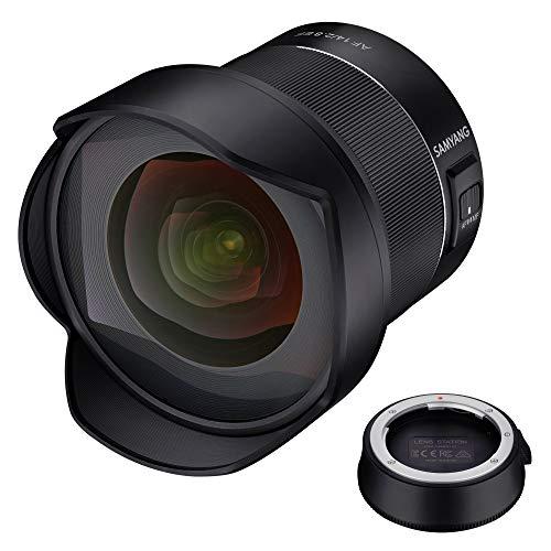 Samyang AF 14mm F2.8 Lens voor Canon met Lens Station