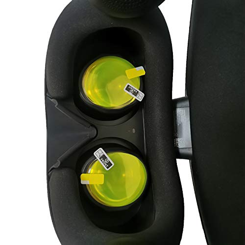 3 Packs Lens Film for Samsung HMD Odyssey+ Headset,Curved Lens, Flat But Soft-Clear