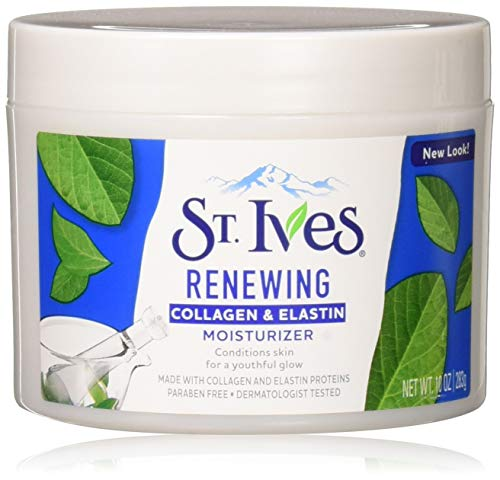 St. Ives Renewing Collagen & Elastin Moisturizer, 10 oz (Pack of 2)